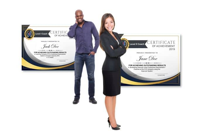 Impruver Certified Daily Improvement Coaches